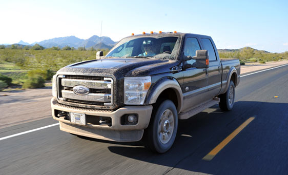 Larry Miller Ford Sandy 2011 Ford F-Series, F-250, F-350 fuel economy of a 6.7L ...